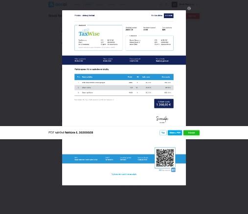 Využívanie online fakturácie - faktúra
